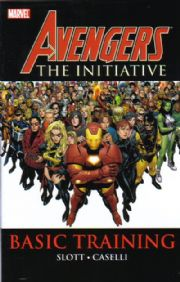 Avengers Initiative Basic Training Trade Paperback Volume 1 TPB